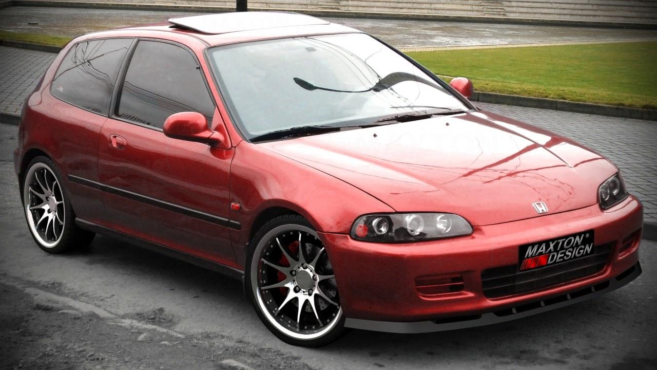 Splitter Przedni Honda Civic V - GRUBYGARAGE - Sklep Tuningowy